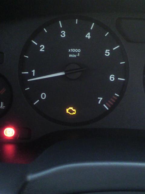 Fw:エンジン警告灯?